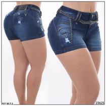 Shorts Jeans Pitbull Original
