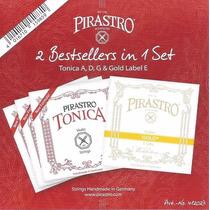 Pirastro Tônica New Formula Violino Corda Mi Etiqueta Gold