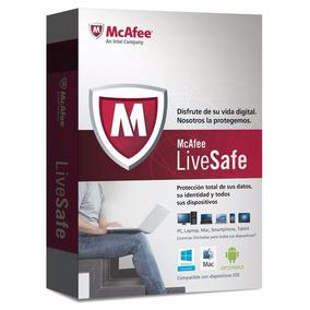 Antivirus Mcafee Livesafe Original Varios Dispositivos