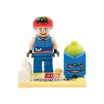 Mini Figuras Lego Compatível Pokémon 5cm