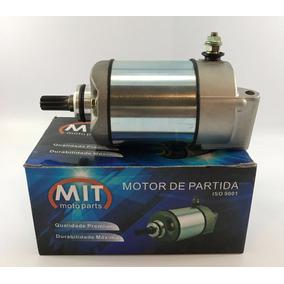 Motor De Arranque Partida Moto Honda Cg 125 Titan Es 2000/04