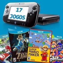 Wii U Com 17 Jogos Zelda Botw Mario Maker Splatoon E Outros