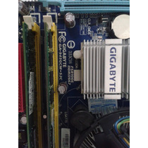 Kit Placa Mae Ga-945gcm-s2c+dual Core+2gb Memoria Windows 8