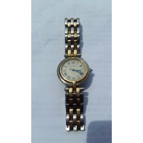 Reloj Cartier Dama Acero Oro 18k Panthere Ronde