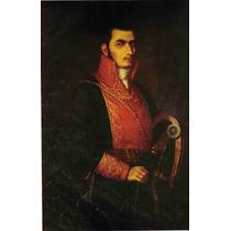 Lienzo Tela Retrato Jose María Morelos Y Pavón 50 X 75 Cm