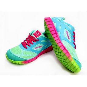 Zapatillas Con Cordon Stone Fluo Multicolor 35-40 Childrens