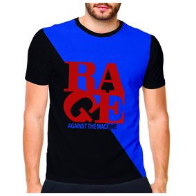 Camisetas Camisa Rage Against The Machine Vários Modelos