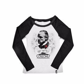 Camiseta Feminina Poderoso Chefão Corleone Studio Geek