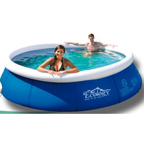 Piscina Inflable Ecology Instand Up 2,4 Mt