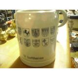 Jarra De Porcelana Lufthansa, Made In The Federal Republic