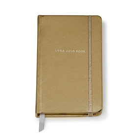 Kate Spade New York Cuero Sintético Notebook - Oro, Pequeño