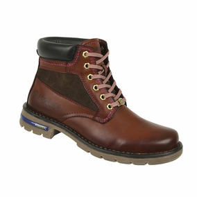 Bota Discovery Ds1992 Color Cognac Mujer