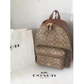 Backpack Coach Mk Back Pack Mochila Original