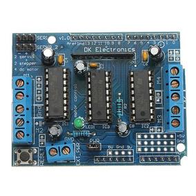 Shield De Motor 4 Canales Para Arduino Robótica