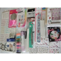 Kit Decoración Uñas Dotting Glitters Art Nail P11 Completo