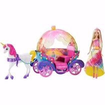 Barbie Dreamtopia - Carruagem Com Princesa Mattel