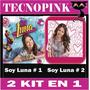 Kit Imprimible Soy Luna (2 En1) + Candy Bar + Regalo + (2x1)
