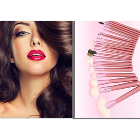 Brochas Maquillaje Profesional Set 22 Piezas Ofertas Bolw