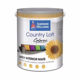 Látex Sherwin Williams Interior Country Loft Color Oro 4 Lts