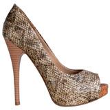 Sapato Feminino Marca Di Cristalli Meia Pata