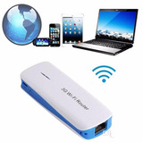 Mini Router 3g Wifi / 3 En 1 / Tablet Pc Smart / Dataglobal