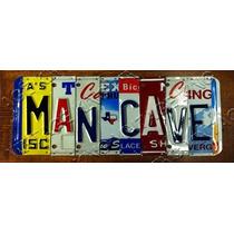 Placa Vintage King Tipo Carro Mdf 34x13 Man Cave Bcc.00030