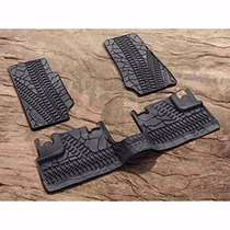 Tapetes De Plastico Original Jeep Wrangler Jk 2007-2015