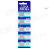 Bateria Cr2032, Cr2016 E Cr2025 Lithium 3v Cartela C/ 5 Unid