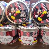 Minnie Mouse Latas Personalizadas 7,5 X 8 Por 10 Unid