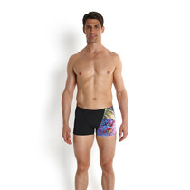Malla Speedo Natacion Aquashort Hombre Koleido All Digit