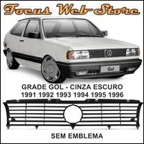 Grade Gol Cinza Escuro Sem Emblema 91 92 93 94 95 96