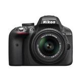Nikon D3300 24.2 Mp Cmos Digital Slr Con Af-s Dx Nikkor 18-5