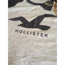 Camiseta Da Hollister Masculina Roupa Camisa Tamanho G Blusa