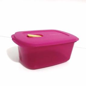 Tupperware Pote Freezer E Microondas 1,7lt Litros Rosa