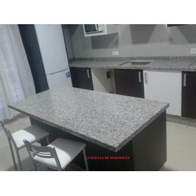 Cubiertas de granito piedra natural 1 metro for Barra de granito para cocina precio