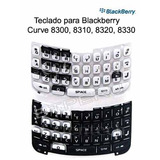 Teclado Keyboard Keypad Blackberry 8300 8310 8320 8330 Curve