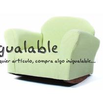 Mecedora En Forma De Sillon Para Niñas Color Verde