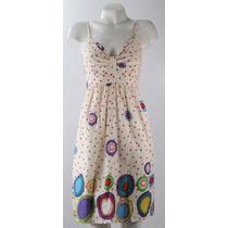 Divino Vestido Solero Sanskrit-india-gasa Algodón-colores