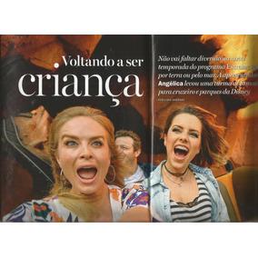 Revista Contigo 2113 - Ana Hieckmann - Angélica - Xuxa