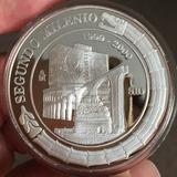 Mexico 1999 $10 Segundo Milenio Plata 2 Oz., Bu Proof Encaps