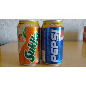 Lata De Refrigerante Promoção Bolada Pepsi Sukita