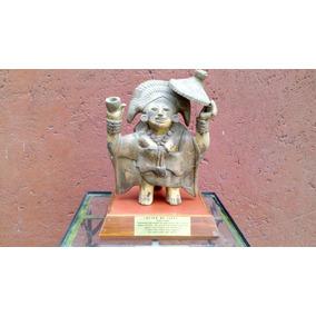 Mujer De Jaina Cultura Maya Artesania Prehispanica De Mexico