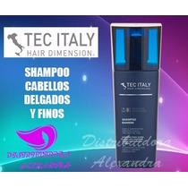 Tec Italy Shampoo Bambini 300ml Cabellos Delgados Y Finos