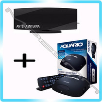 Kit Conversor Tv Digital Gravador H D M I + Antena Interna