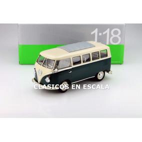 Volkswagen T1 Combi Microbus 1963 - Clasico - V Welly 1/18