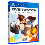Overwatch Ps4 Origins Edition Novo Mídia Física + Pôster