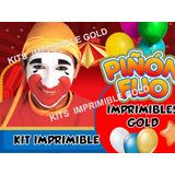 Kit Imprimible Piñon Fijo Candy Bar Diseñá Tarjetas Y Mas