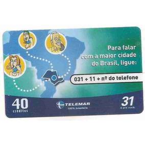 5898 Cartões Telefônicos 5 Tarjinhas Diferentes Ver Texto