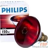Lâmpada Philips Infravermelha 150w 220v Luz Saude