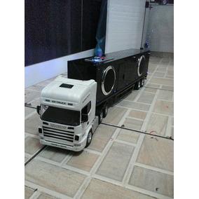 Carreta Controle Remoto Blacke White Mp3
